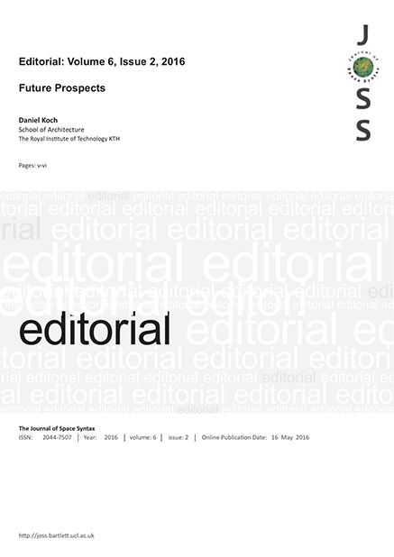 Editorial future prospects koch the journal of space for Koch 6 backjournal
